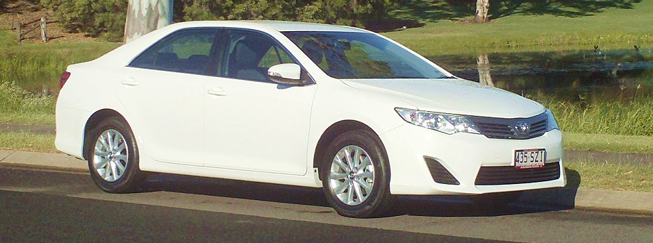 Car Rental New Toyota Camry